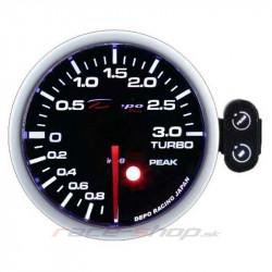 Programirajući Mjerač DEPO racing Tlak turba električni -1 do 2bar