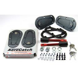 Aerodinamički držači haube Aerocatch, sa zaključavanjem, carbon look
