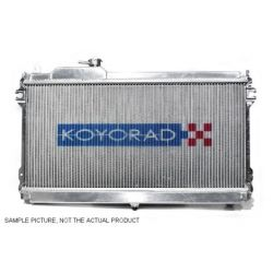 Aluminijski Racing hladnjak Koyorad za Mazda RX-8, 03.4~