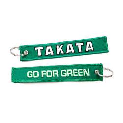 Privjesak za ključeve Takata go for green zeleni