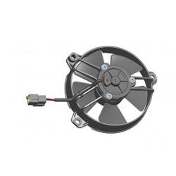 Univerzalni električni ventilator SPAL 130mm - pritisni , 24V