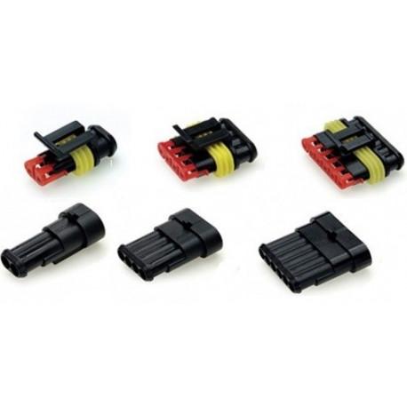 Kabeli, stopice, konektori Vodootporni 1 - 6-pinski priključak | race-shop.hr