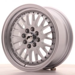 Japan Racing JR10 15x7 ET30 4x100/108 Full Silver
