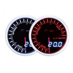 Mjerni instrument DEPO racing Omjer goriva / zraka - Dual view serija