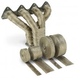 Termo izolacijska traka za ispušne grane i auspuh DEI - 25mm x 15m Titanium