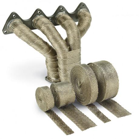 Izolacijske trake za ispuh Termo izolacijska traka za ispušne grane i auspuh DEI - 25mm x 30m Titanium   race-shop.hr