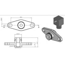 Adapter rampe za gorivo Subaru WRX STI 08+