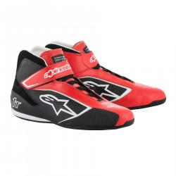 Cipele ALPINESTARsa FIA Tech 1 T - Red/Black/White