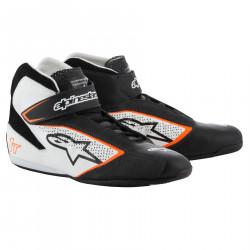 Cipele ALPINESTARsa FIA Tech 1 T - Black/White/Orange