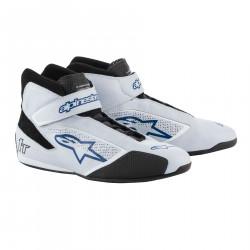 Cipele ALPINESTARsa FIA Tech 1 T - Silver/White