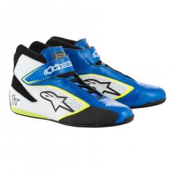 Cipele ALPINESTARsa FIA Tech 1 T - Blue/White/Yellow