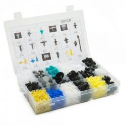 Universal interior pins and clamps (730pcs)