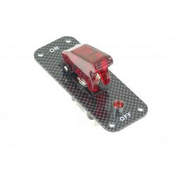 Karbon prekidač s LED diodom
