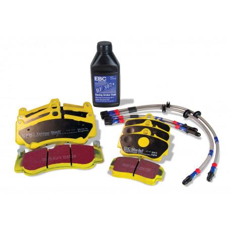 Kočioni diskovi EBC EBC Yellowstuff kit PLK1044 - Kočione pločice, kočnice, kočna tekućina | race-shop.hr