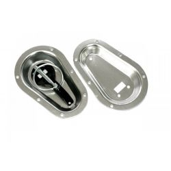 Aluminijske zdjele za udubljene ručke u haubi