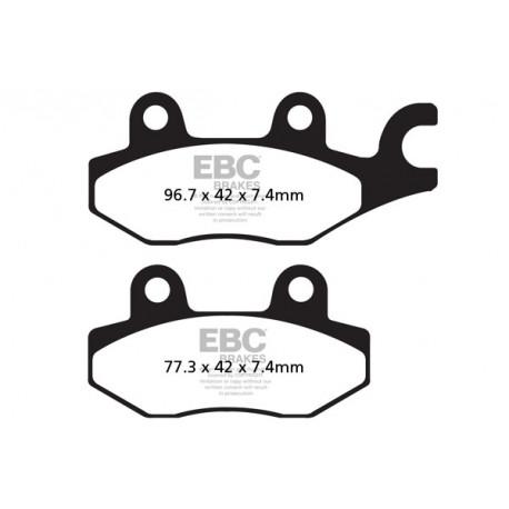Front Rear Brake Pads For CF MOTO CF 800 UU-AU-Force Z8 Side x Side 2013-2015