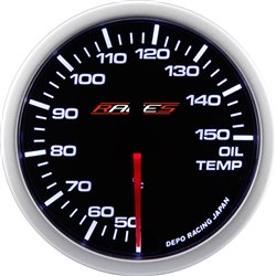 Gauge RACES Clubman - Oil temperature