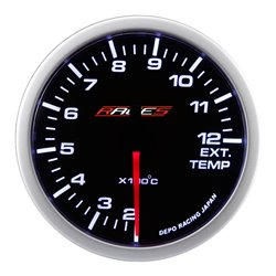Gauge RACES Clubman - Exhaust gas temperature