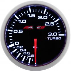 Gauge RACES Clubman - Boost pressure 3bar