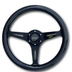 Steering wheel RACES Carbon, 350mm, flat