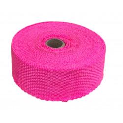 Termo izolacijska traka za ispušne grane i auspuh, ružičasta, 50mm x 10m x 1mm