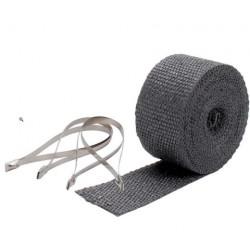 Termo izolacijska traka za ispušne grane i auspuh DEI - 5 cm x 7,5m Black + vezice