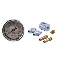 adapter RACES 8mm, AN6 s manometrom 0-8Bar