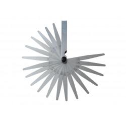 Dodirna skala od 20 mjernih noževa 0,05-1 mm