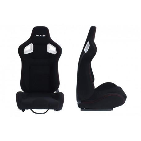 Sportska sjedalab bez FIA homogolacije prilagodljive Sportsko sjedalo SLIDE tekstil   race-shop.hr