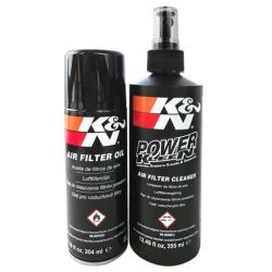 Komplet za čišćenje i njegu sportskog filtra za zrak K&N