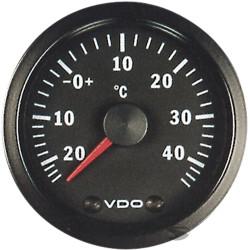 Mjerač VDO mjerač vanjske temperature - cockpit vision serija