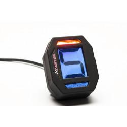 Digitalni indikator zupčanika koji pokazuje trenutnu brzinu prijenosa.