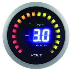 Digitalni mjerni instrument DEPO racing 2v1 Punjenje + Pritisak turba Digital combo serija