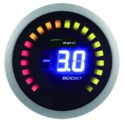 Digitalni mjerni instrument DEPO racing 2v1 Temperatura ispušnih plinova + Pritisak turba Digital combo serija